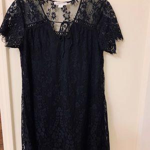 Love Riche black lace dress
